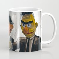 watch Mugs featuring Pulp Street by Beery Method