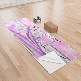 Psychedelic Paradise Yoga Towel