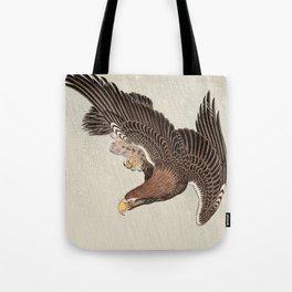 Koson Ohara - Eagle - Japanese Vintage Woodblock Painting Tote Bag