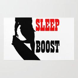 Eat Sleep Boost Repeat Kitebeach Rug