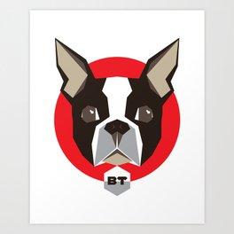 BostonTerrier Art Print