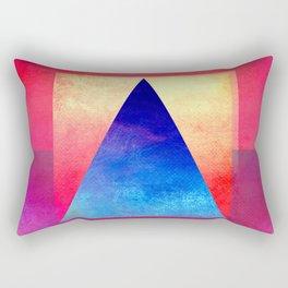 Triangle Composition VIII Rectangular Pillow