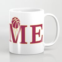 cleveland Mugs featuring Cleveland Home by DLTNM