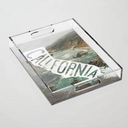 California Acrylic Tray