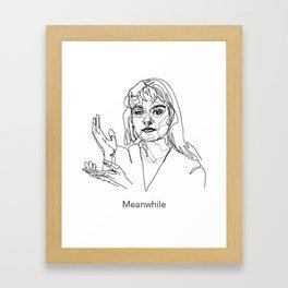 Laura Palmer, Meanwhile Framed Art Print