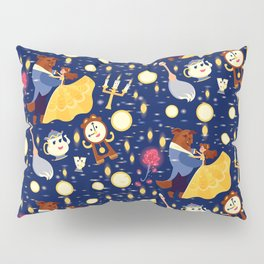 Be Our Guest Pattern Pillow Sham
