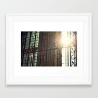 verse Framed Art Prints featuring The Verse by Simon Hsien-Chi Wan