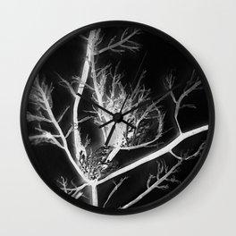black kelp Wall Clock