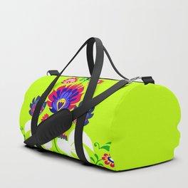 Polish folk Duffle Bag