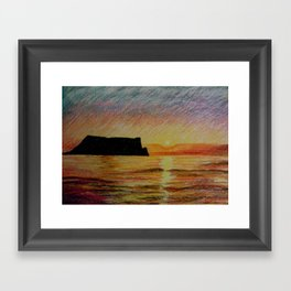 beautiful as well Framed Art Print