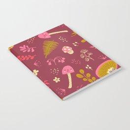 Fungi Friends Notebook