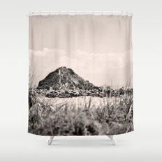 Monkey Island, Southland, New Zealand Shower Curtain