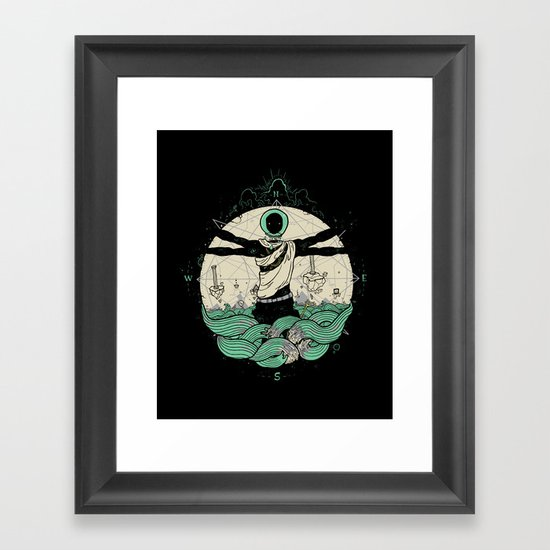 History of Space Framed Art Print