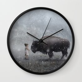 MeeTe Buffao Wall Clock