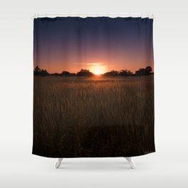 African Kalahari Sunset - Landscape Photography #Society6 Shower Curtain