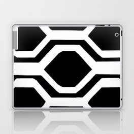 Black and White Geometric Laptop & iPad Skin