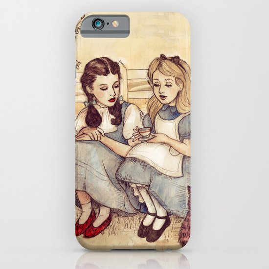 Dorothy and Alice iPhone & iPod Case