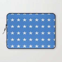 stars and blue-sky,light,blue,rays,hope,spangled,estrella,astre,pointed,azul,azure Laptop Sleeve