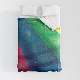 Rainbow Crosswalk Comforters