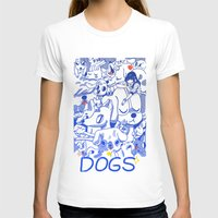 dogs T-shirts featuring Dogs✧ by Natali Koromoto