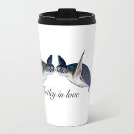 Turtley In Love Travel Mug