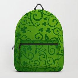 shamrock, ireland, irish gift, irish gifts women, luck of the irish, saint patricks day Backpack