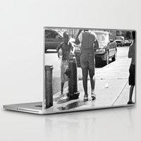 brooklyn Laptop & iPad Skins featuring brooklyn by Teresa Gabry