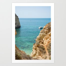 A small inlet suitable for swimming Art Print