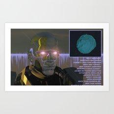 <EXIT BROWSER> Art Print