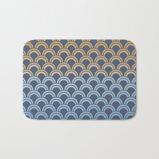 Fish Scale #1 Bath Mat