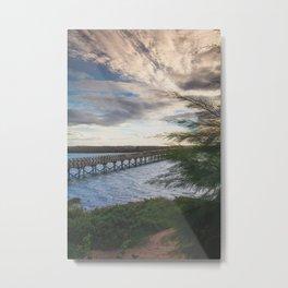 Ria Formosa - Quinta do Lago, Portugal Metal Print