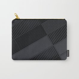 Futuristic industrial grates and technological elements Carry-All Pouch