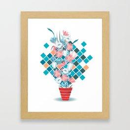 Art Flowers Framed Art Print