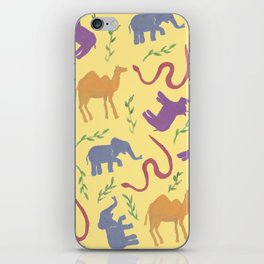 Animal colorfulness iPhone Skin