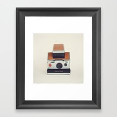 SX-70 POLAROID  Framed Art Print
