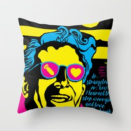THE FILMS OF KUBRICK :: DR. STRANGELOVE OR: HOW I LEARNED TO STOP WORRYING AND LOVE THE BOMB Throw Pillow
