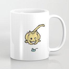 The Tabby 'Mouse Hunt' Coffee Mug