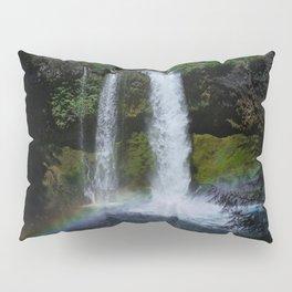 Rainbow Waterfall Pillow Sham