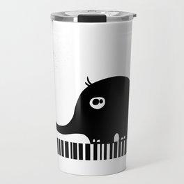 Little Elephant With Big Love... Travel Mug