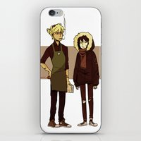 durarara iPhone & iPod Skins featuring Kids These Days by rhymewithrachel