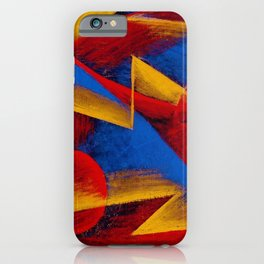 Line of Speed by Giacomo Balla iPhone Case