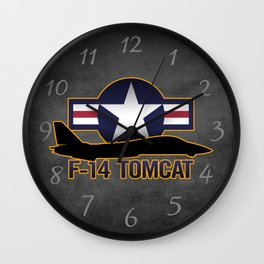 F-14 Tomcat Wall Clock
