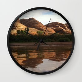 Moab Reflection Wall Clock
