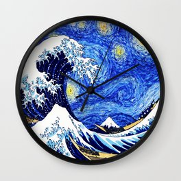 Great Starry Night Wall Clock