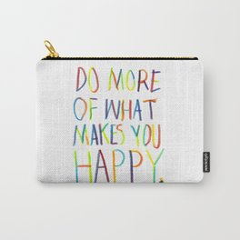 Positive Quote Carry-All Pouch