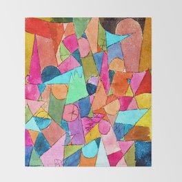 Paul Klee Untitled Throw Blanket