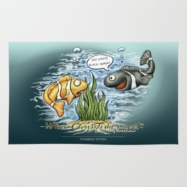 When Clownfishes meet Rug