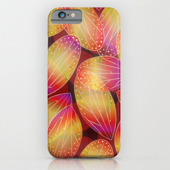 Fire Fairy Wings iPhone & iPod Case