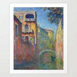 Rio della Salute by Claude Monet Art Print