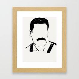 14- FreddieMercury Framed Art Print